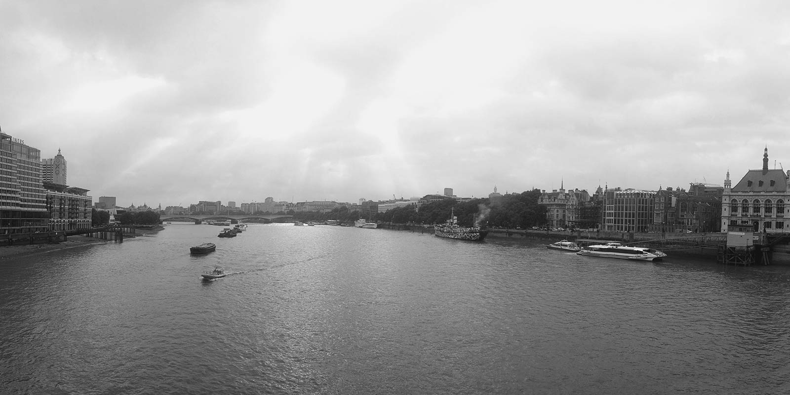 the view from blackfriars